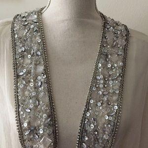 Alice & Olivia Jeweled Sz XS-XL New